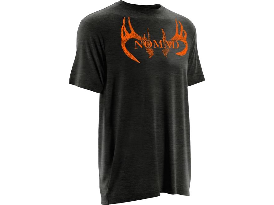 NOMAD Men's Deer Antlers T-Shirt Short Sleeve Cotton
