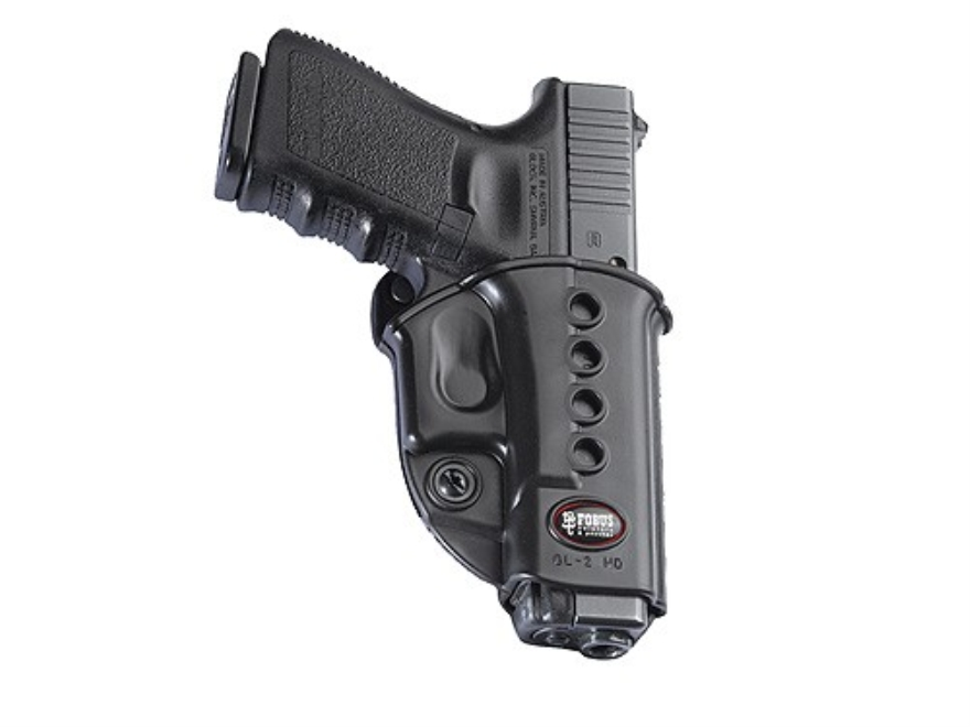 Fobus Evolution Belt Holster Polymer Black