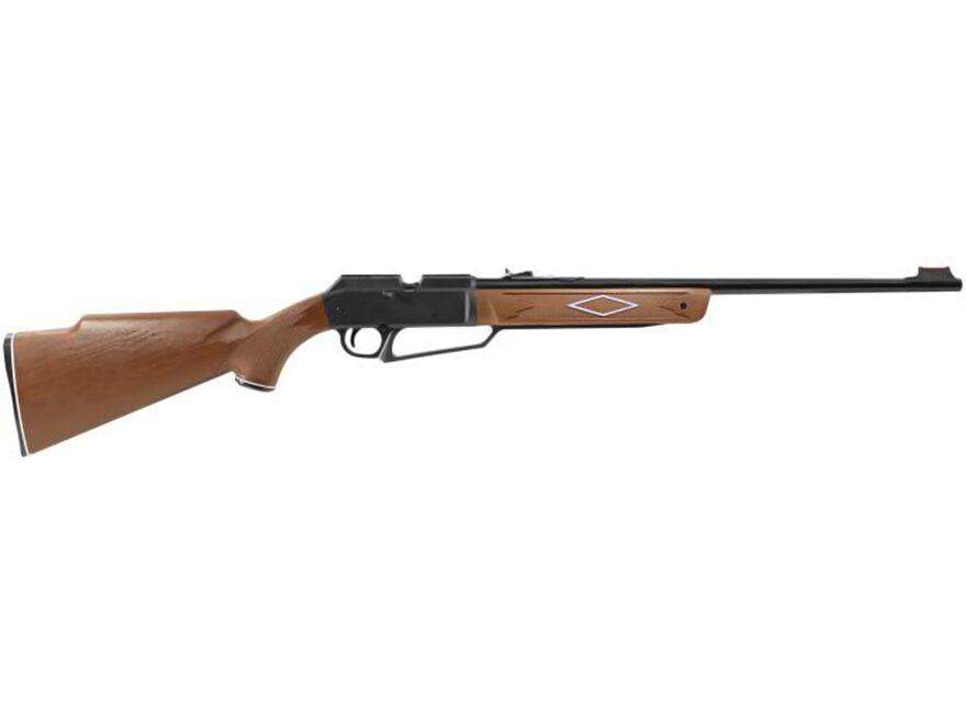 Daisy Powerline 880 Pump Air Rifle 177 Caliber BB and Pellet Polymer Brown Stock Blue B...