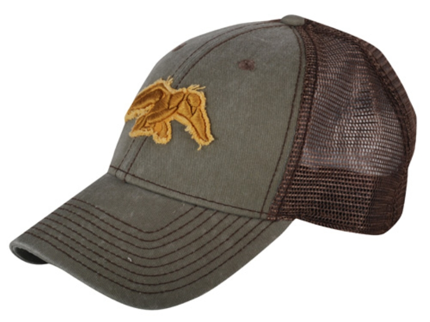 Duck Commander Logo Cap Brown with Moss Duck