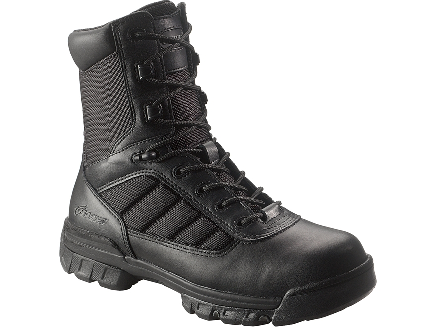 "Bates Tactical Sport 8"" Side-Zip Tactical Boots Leather/Nylon"