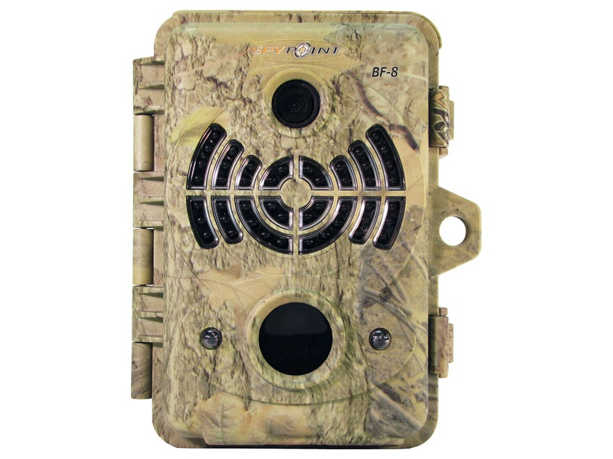 Spypoint BF-8 Black Flash Infrared Game Camera 8.0 MP Spypoint Dark Forest Camo
