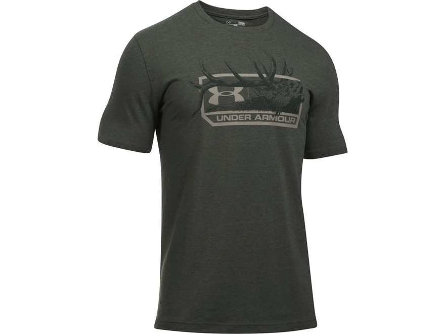 Under Armour Men's UA Elk T-Shirt Short Sleeve Charged Cotton
