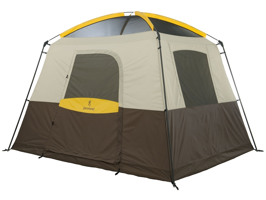 "Browning Ridge Creek 5 Dome Tent 120"" x 96"" x 84"" Polyester Brown and Tan"