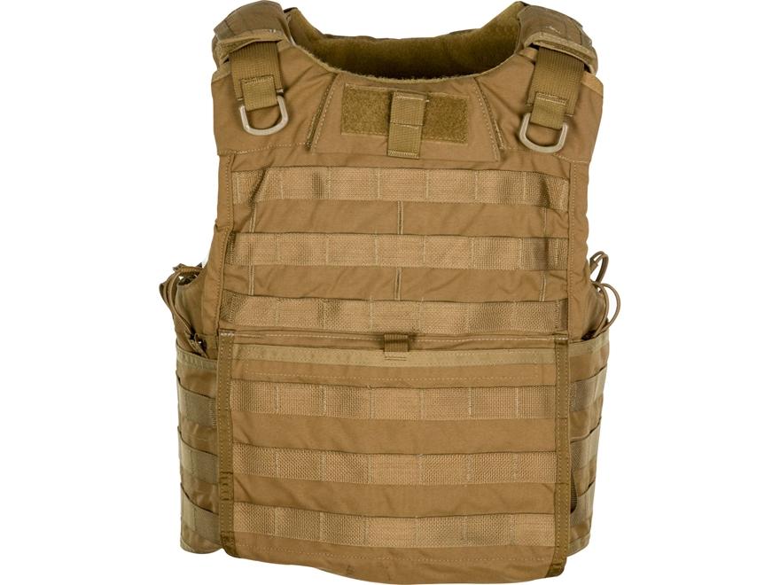 Military Surplus Eclipse Releasable Body Armor Vest Grade 1 Tan Medium