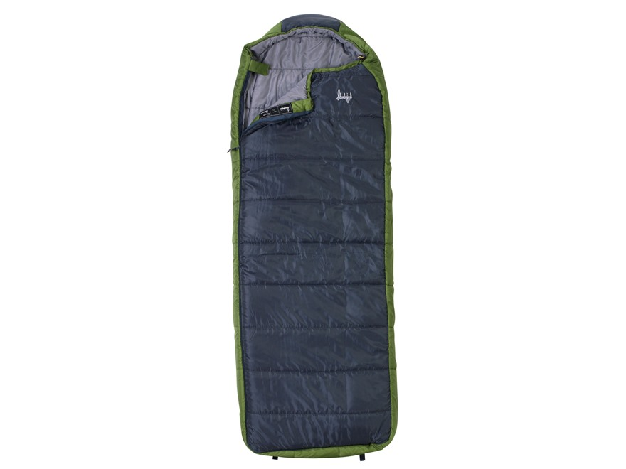 Slumberjack Esplanade 20 Degree Sleeping Bag Polyester Navy and Green
