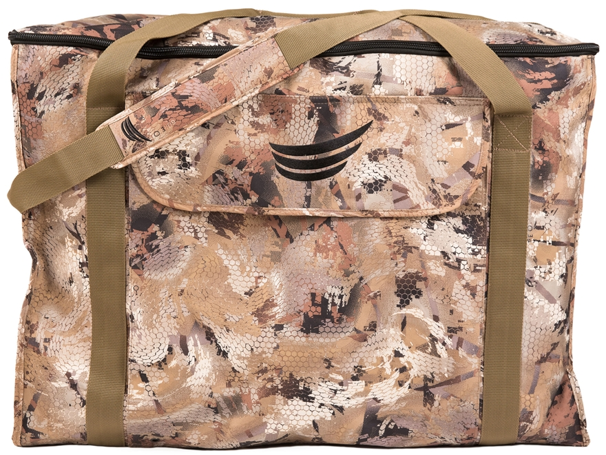 Tanglefree Flight Series 6 Slot Zipper Top Goose Decoy Bag Gore Optifade Camo