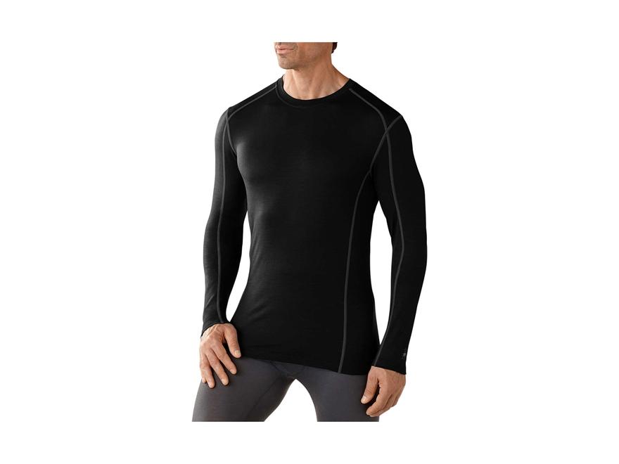 Smartwool Men's NTS Micro 150 Crew Base Layer Shirt Shirt Long Sleeve Merino Wool