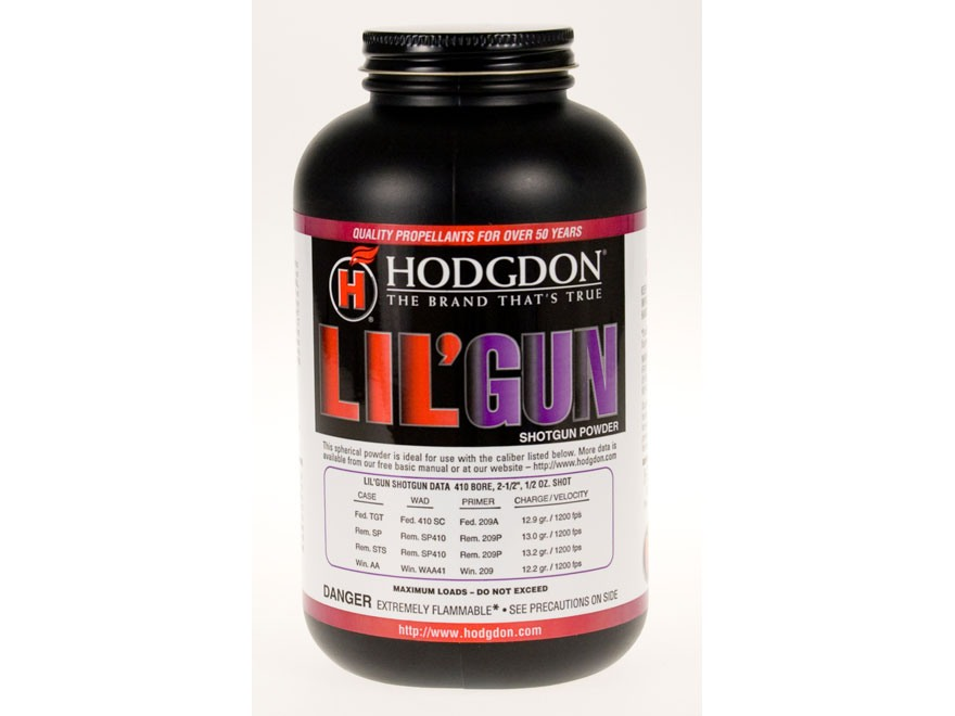 Hodgdon Lil' Gun Smokeless Powder