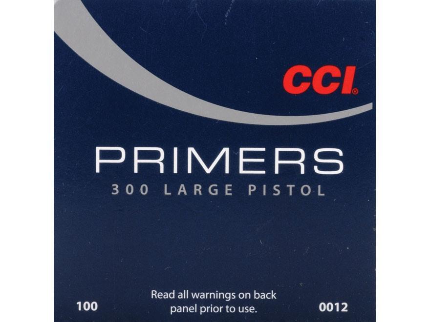 CCI Large Pistol Primers #300
