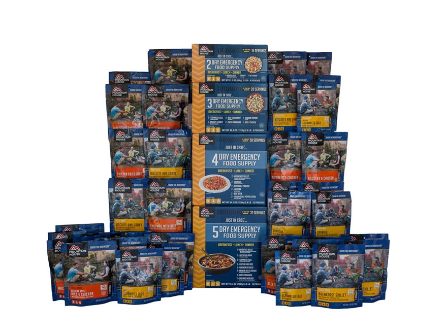 Mountain House Just In Case 14-Day Emergency Freeze Dried Food Kit