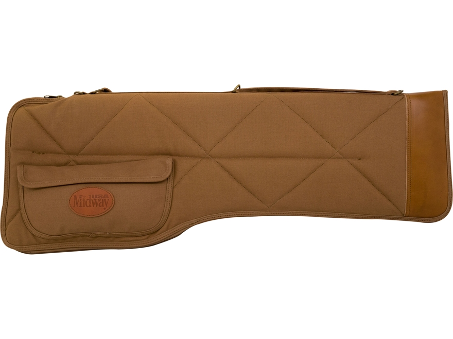 MidwayUSA Deluxe Cotton Canvas Takedown Shotgun Case