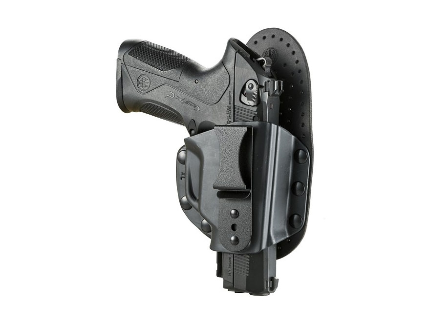 Beretta Model S Inside the Waistband Holster Leather/Polymer Black