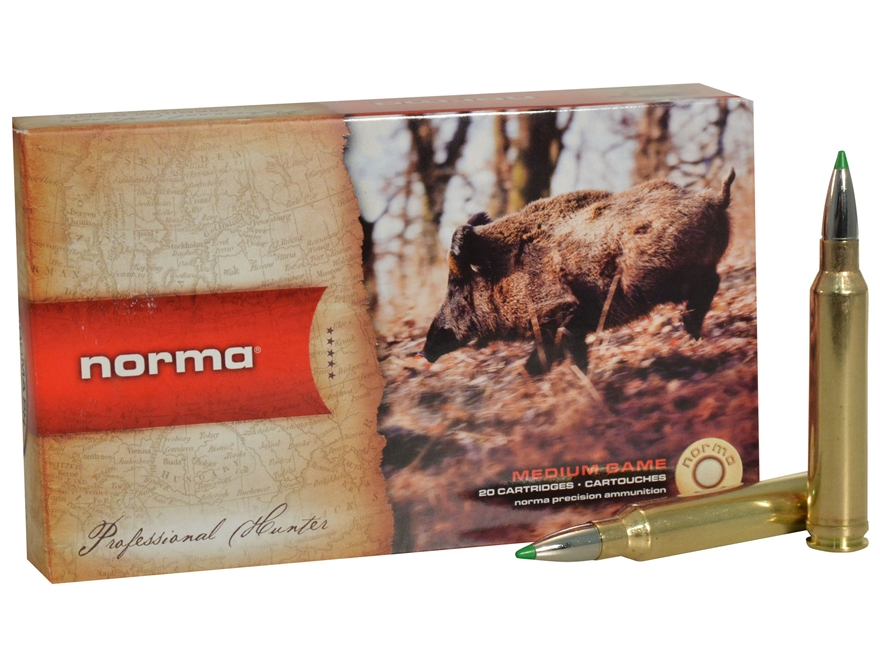 Norma USA American PH Ecostrike Ammunition 300 Winchester Magnum 150 Grain Tipped Boat ...