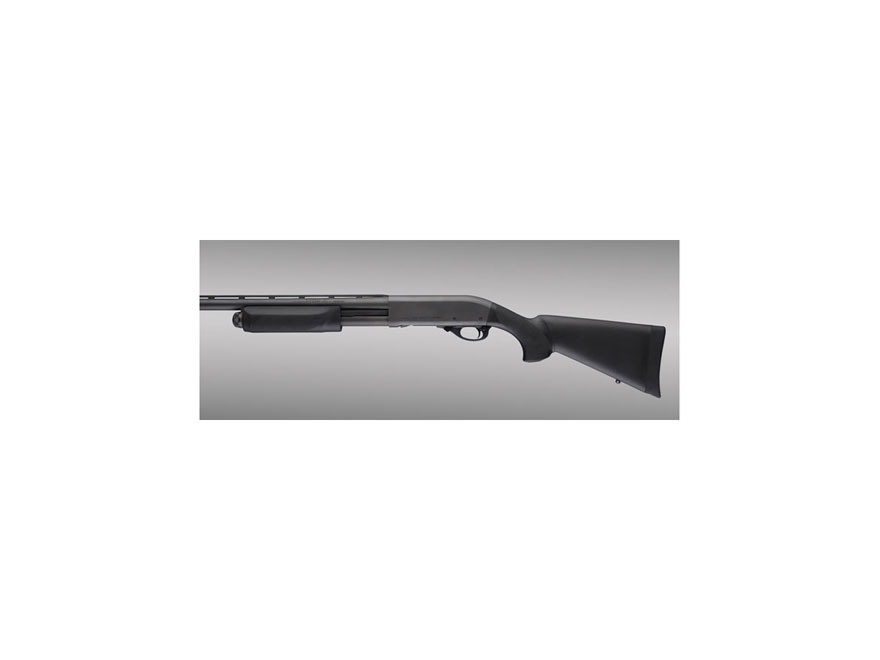 Hogue Rubber OverMolded Stock and Forend Remington 870 12 Gauge Synthetic Black