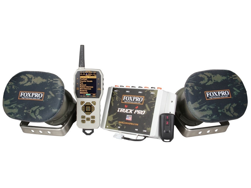 FoxPro Truck Pro Electronic Predator Call