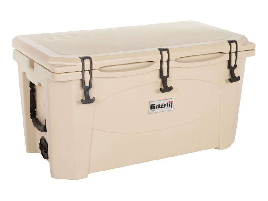 Grizzly 75 Qt Cooler with Rope Handles Polyethylene