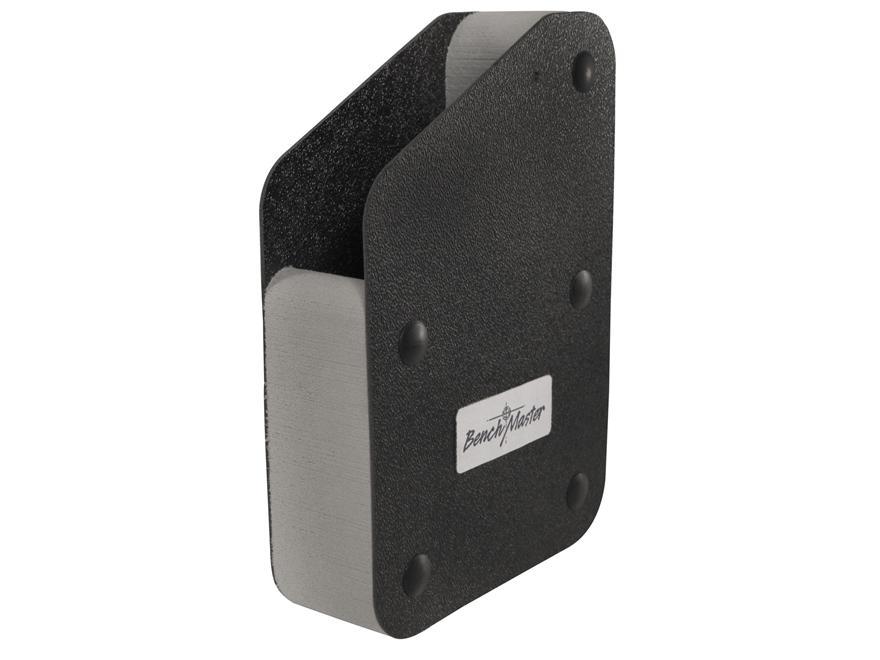 Benchmaster Pistol Rack 1-Gun Magnetic Strip Closed Cell High Density Foam Black