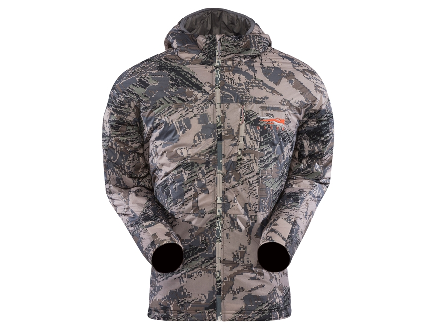 Sitka Gear Men's Kelvin Lite Insulated Hooded Sweatshirt Polyester Gore Optifade Open C...