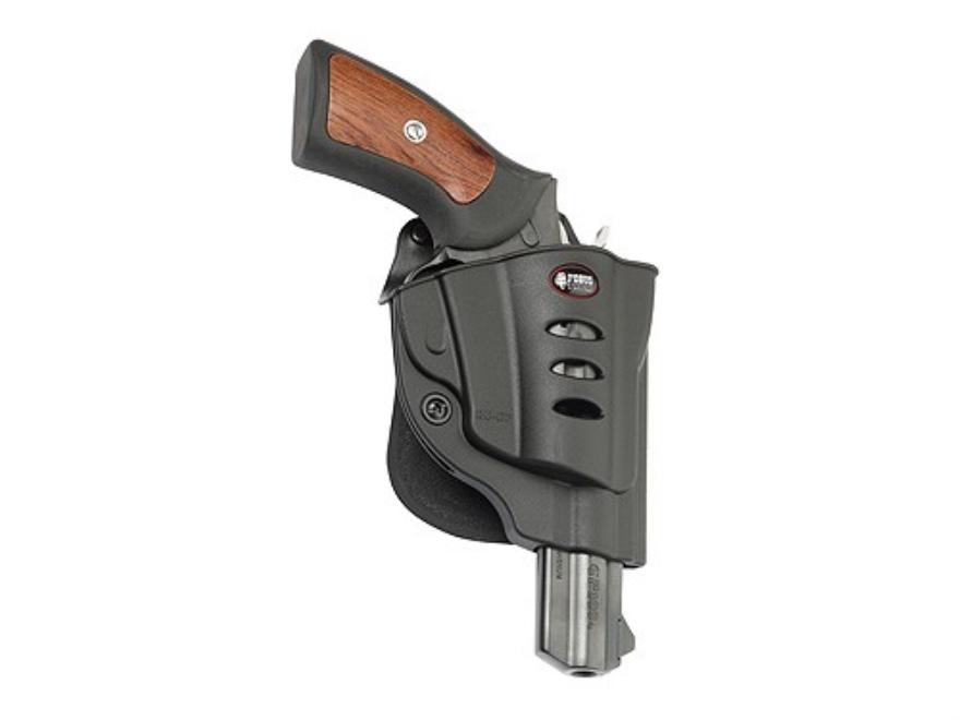 Fobus Evolution Paddle Holster Right Hand Ruger GP100 Polymer Black