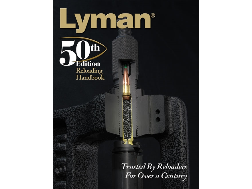 "Lyman ""Reloading Handbook: 50th Edition"" Reloading Manual"