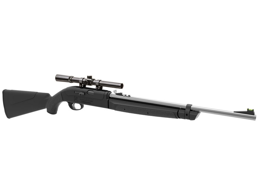 Remington AirMaster 77 Pump Air Rifle 177 Caliber Pellet and BB Black Synthetic Stock M...