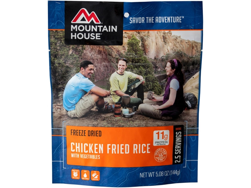 Mountain House Chicken Fried Rice Freeze Dried Food 5.08 oz