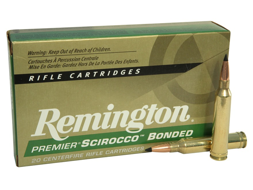 Remington Premier Ammunition 7mm Remington Magnum 150 Grain Swift Scirocco Polymer Tip ...