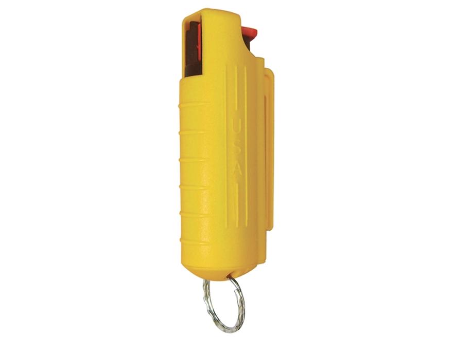 Eliminator Pepper Spray .5 oz Aerosol Includes Hard Key Case 10% OC and UV Dye