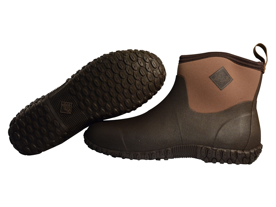 """Muck Muckster II 4"""" Hunting Shoes Rubber and Nylon Bark"""