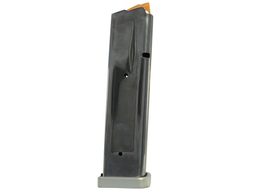 SPS Magazine Pantera, Vista, STI 2011 45 ACP 16-Round 140mm Stainless Steel Aluminum Base