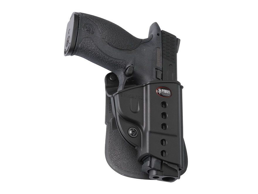Fobus Evolution Paddle Holster Right Hand S&W M&P Polymer Black