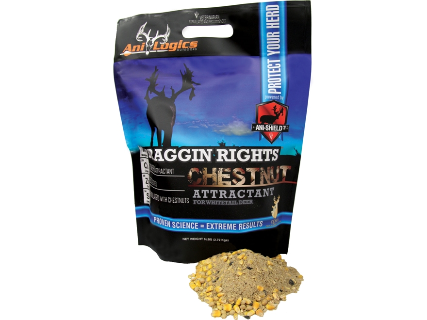 Anilogics Braggin Rights Chestnut Deer Supplement in 6 lb Bags