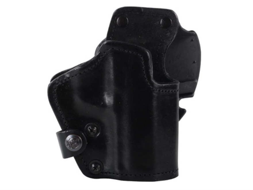 Front Line LKC 3-Layer Belt Holster Right Hand HK USP 9/40 Suede Lined Leather and Kyde...