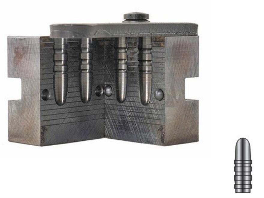 Lyman 2-Cavity Bullet Mold #287346 284 Caliber, 7mm (285 Diameter) 135 Grain Round Nose...