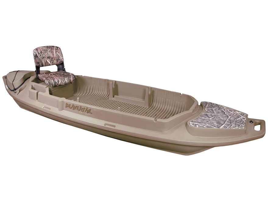 Beavertail Stealth 2000 12' Sneak Boat Marsh Brown