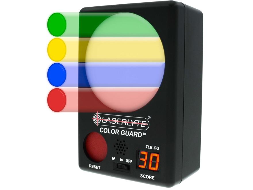 LaserLyte Color Guard Laser Trainer Target