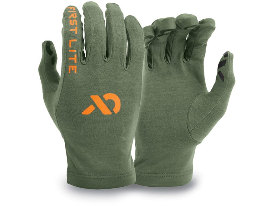 First Lite Aerowool Liner Gloves Aerowool Blend