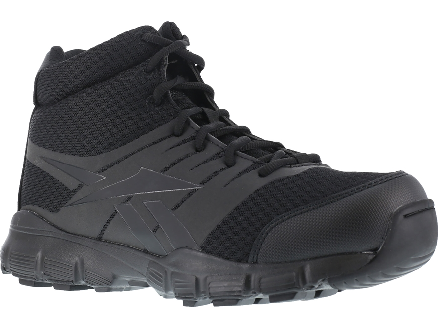 "Reebok Dauntless Ultra-Light 5"" Side-Zip Tactical Boots Leather/Nylon Men's"