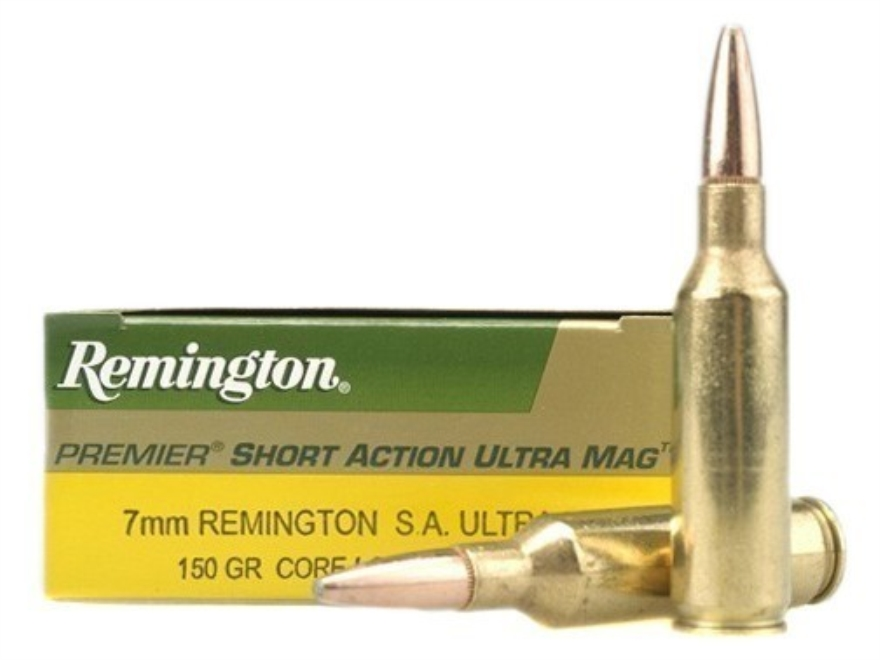 Remington Express Ammunition 7mm Remington Short Action Ultra Magnum 150 Grain Core-Lok...