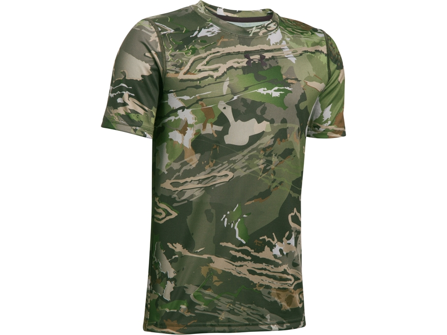 Under Armour Youth UA Scent Control Tech Shirt Short Sleeve Polyester