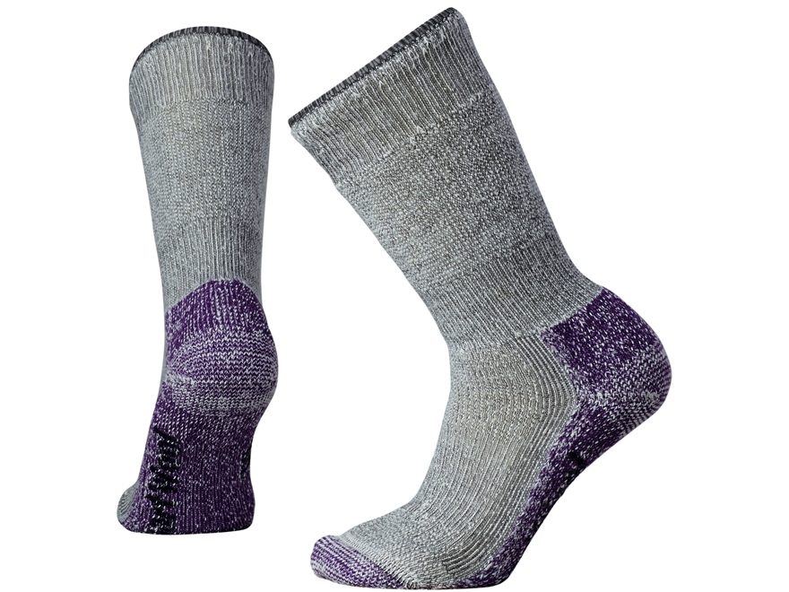 Smartwool Women's Mountaineering Extra Heavy Crew Socks Merino Wool and Nylon