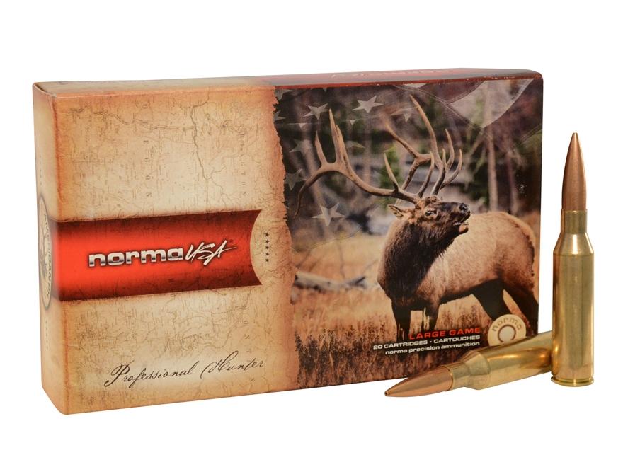 Norma USA American PH Ammunition 338 Norma Magnum 300 Grain Sierra MatchKing Hollow Poi...