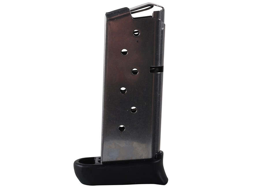 Sig Sauer Magazine Sig Sauer P938 9mm Luger 7-Round with Extended Base Pad Stainless Steel