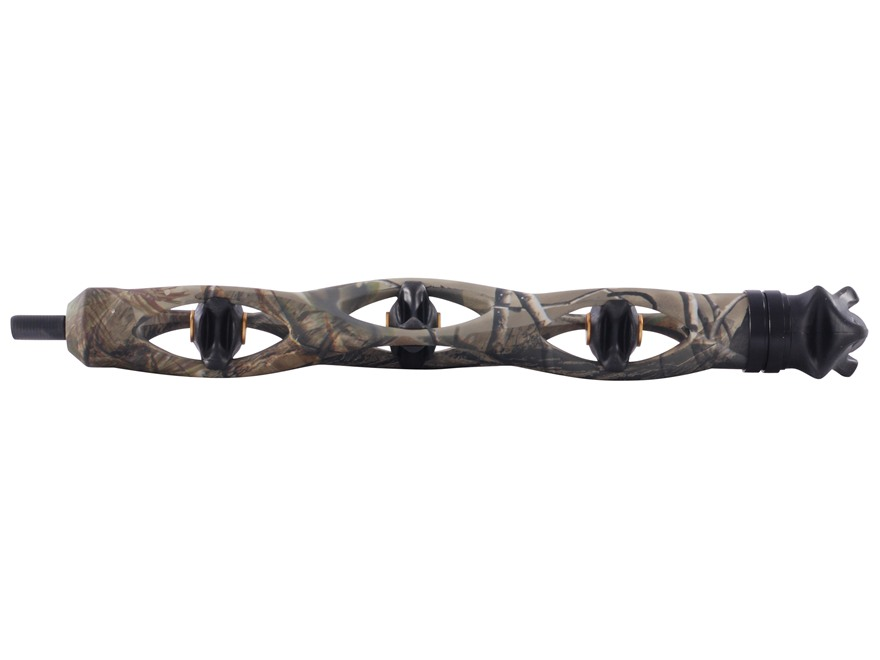 "Trophy Ridge Static 9"" Bow Stabilizer Aluminum and Rubber Realtree APG Camo"