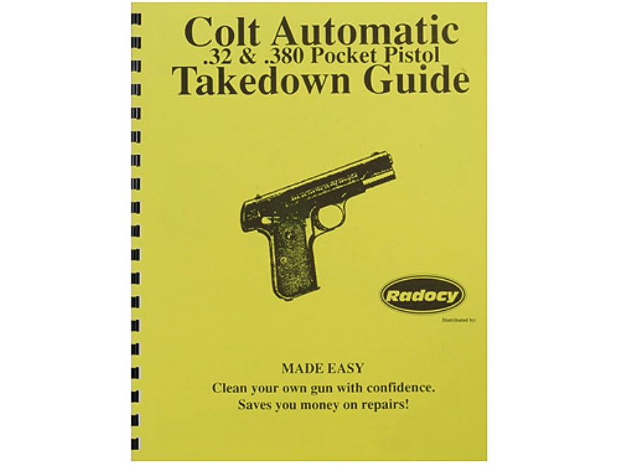 "Radocy Takedown Guide ""Colt Pocket Auto"""