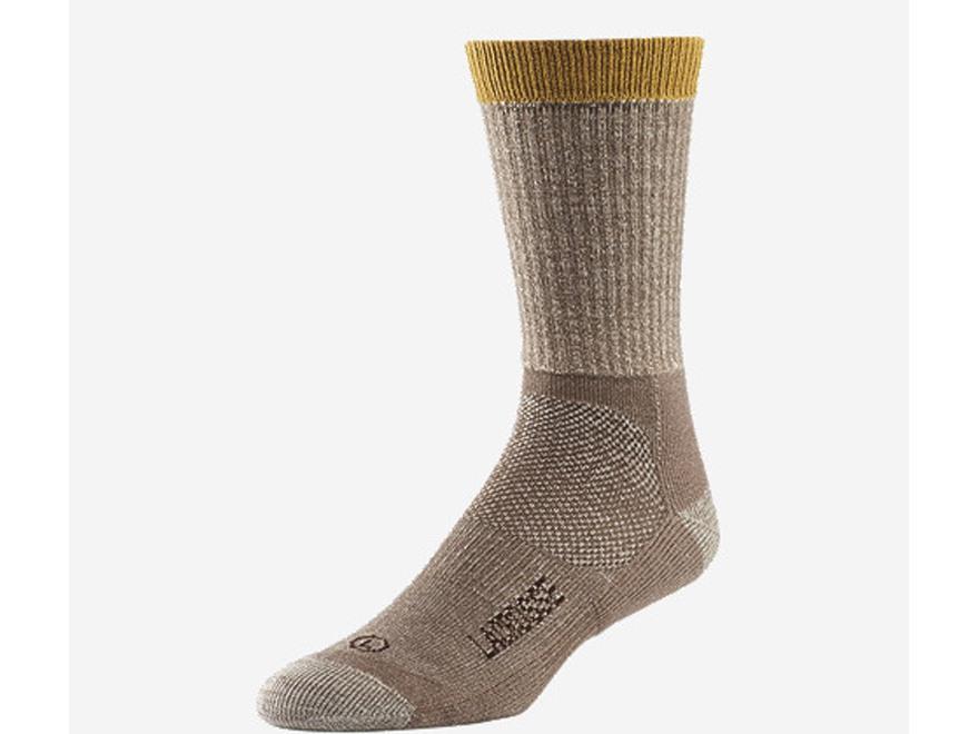 LaCrosse Men's Hunt Lightweight Crew Socks Merino Wool and Synthetic Blend