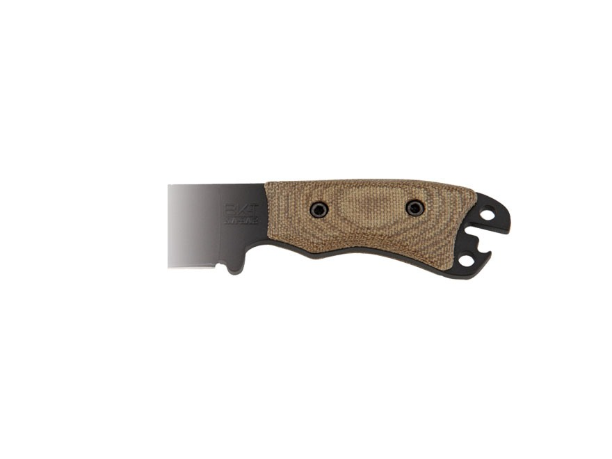 KA-BAR Necker Size Becker Handle Kit Green Canvas Micarta
