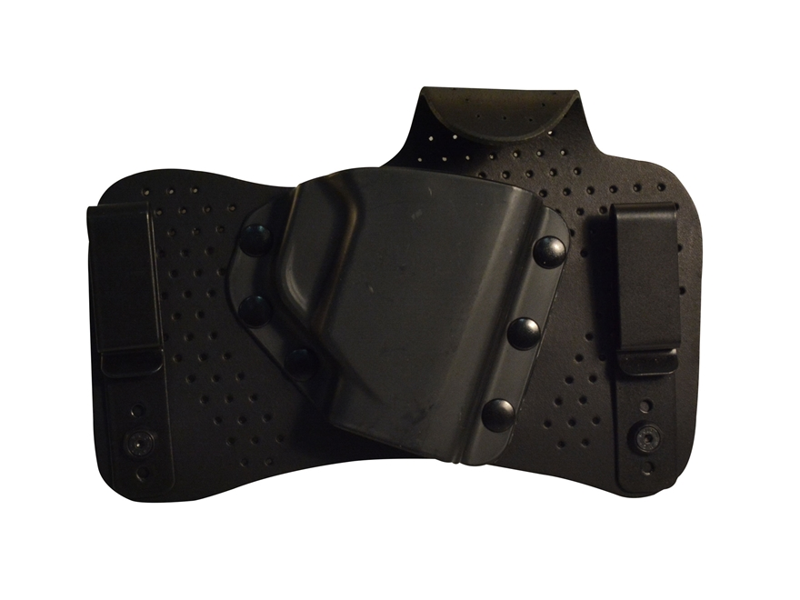 Beretta BU Inside the Waistband Hybrid Holster Right Hand Nano Leather/Polymer Black