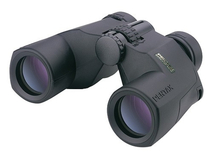 Pentax PCF WP II Binocular 8x 40mm Porro Prism Black